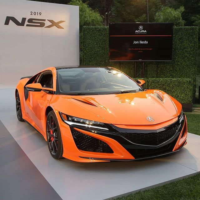 Acura NSX 2019 Hadir Dalam Monterey Car Week 2018