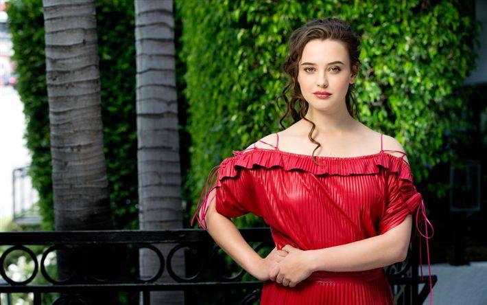 Lataa kuva Katherine Langford, 2017, kauneus, kaunis nainen, LA Times, Hollywood