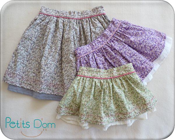 As 25 melhores ideias de tuto jupe no pinterest patron couture facile patron couture e tuto - Tuto jupe facile elastique ...