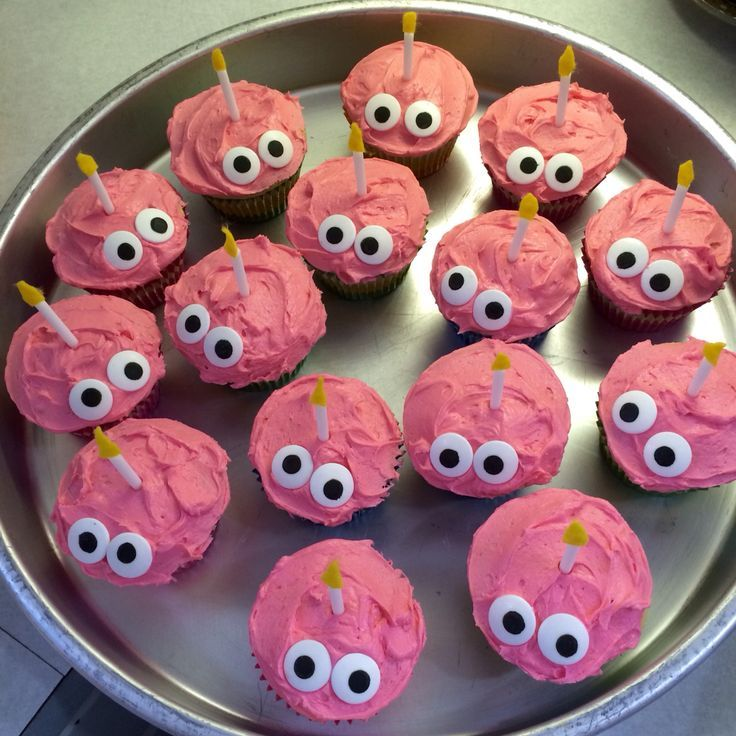 diy five nights at freddies birthday party ideas | Five Nights at Freddy's cupcakes that I made (supposedly the cupcake ...