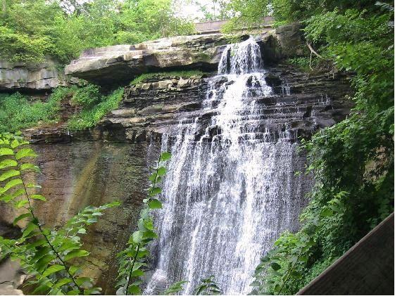 Brandywine Falls at Cuyahoga Valley National Park