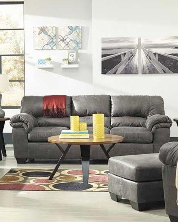 Bladen Slate Sofa College Essentials Living Room Sets Living Room Decor Pillows Ashley Sofa