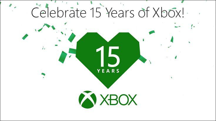 Celebrating 15 Years of Xbox  #Xbox