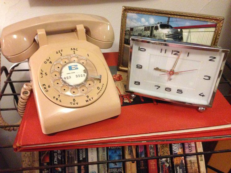 Pin by Stephen Randall on Vintage Living Desk phone