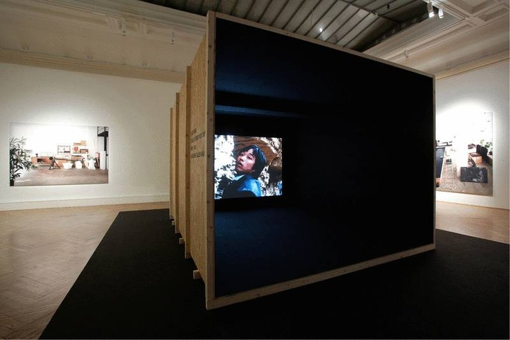 """""""Wandering Eyes: Videokunst aus Shanghai"""", 31.05. - 04.09.2012, Landesgalerie Linz; Foto: Grilnberger / Oberösterreichische Landesmuseen"""