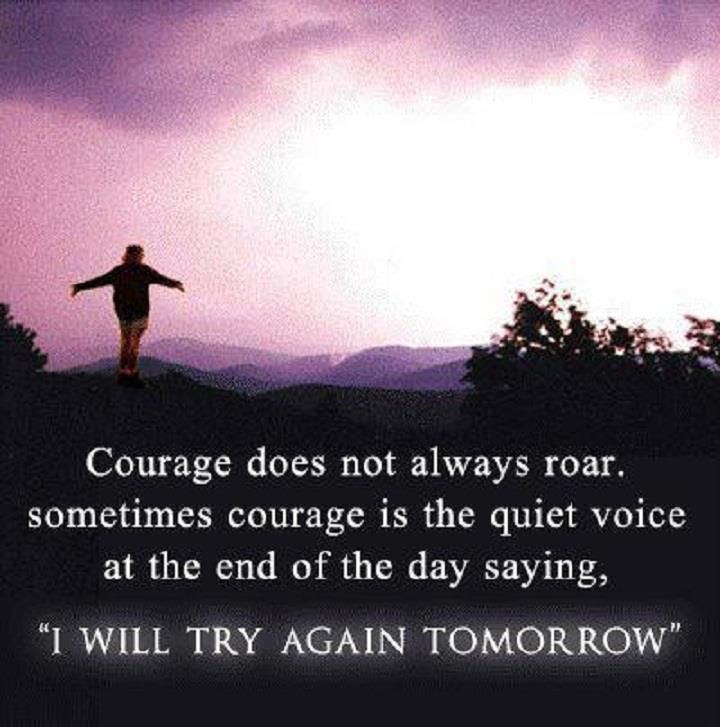 Never give up! Send this to a friend who is having rough patch and needs some inspirational words.