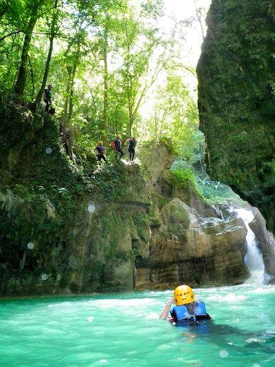On-Site Cabarete: Canyoning Ciguapa Falls with Iguana Mama Adventure Tours