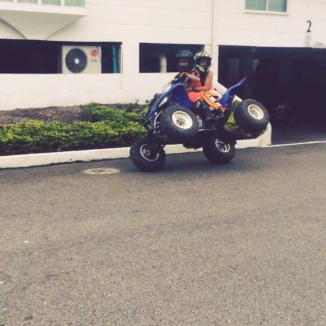 Mira @yonny68 la fiebreeeee!! La adrenalinaaaa!!! Preparando motores junto a @rafaelalbertini17 siguiendo tus pasos !!! Lo máximo @albertini1121