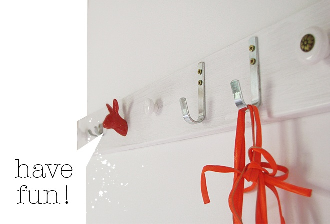 Create your own hook rack by Asia live from Ikea Family