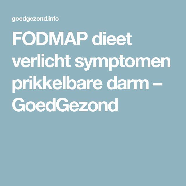FODMAP dieet verlicht symptomen prikkelbare darm – GoedGezond