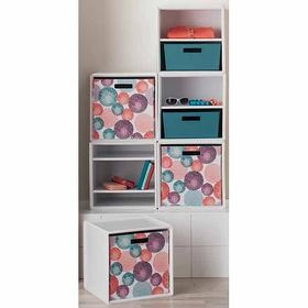 itso™ storage cube or large bin- stackable and can be reconfigured with different dorm arrangements