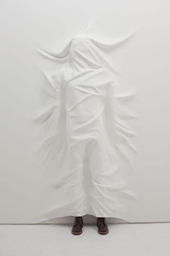 Creative Review - Oh wow, it's Daniel Arsham: Sculpture, Danielarsham, Contemporary Artworks, White, Hiding Figures, Artists Daniel, Daniel Arsham, Inspiration Art, Photography
