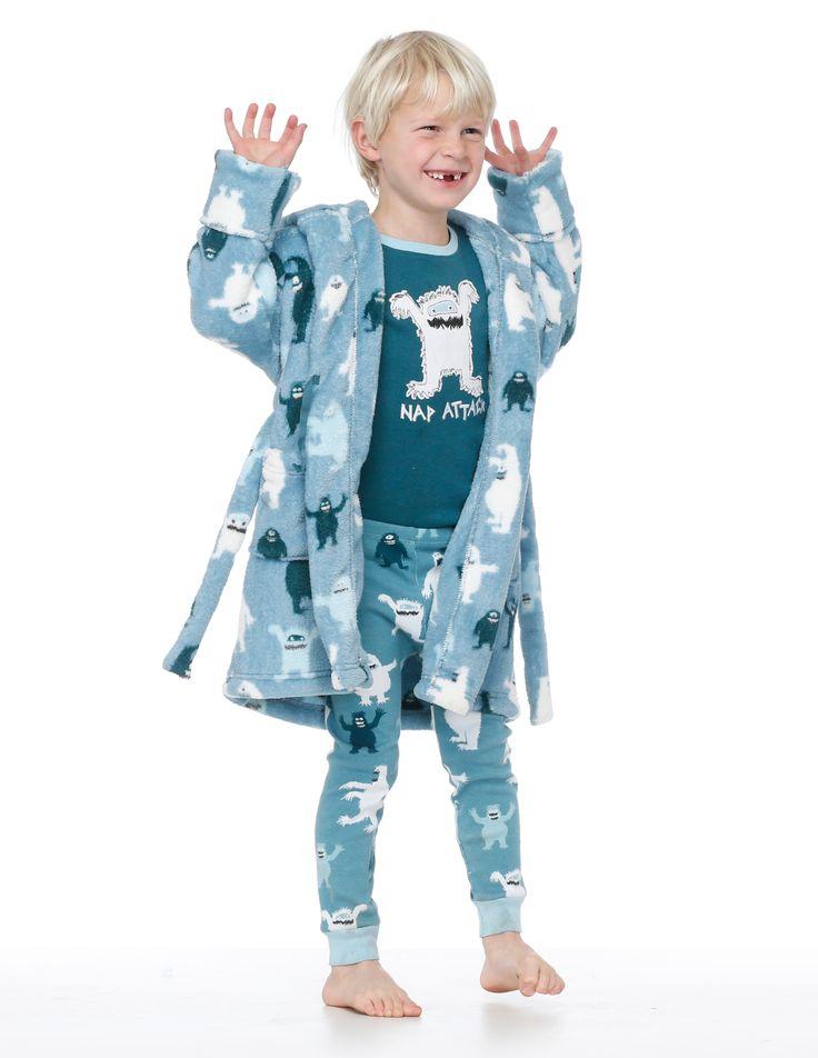 Hatley boys super soft ice monsters robe $49.95 http://www.planetpyjama.com.au/dressing-gowns/