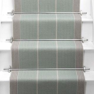 Products | Runners for stairs and halls | Blue/Green | Swanson: Celadon - Roger Oates Design