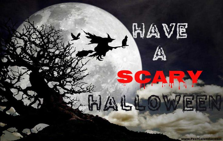 Scary Halloween Wishes 2016