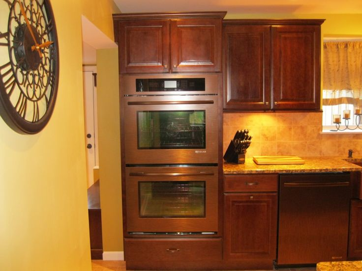 Homedepot Kitchen Cabinets Orange Copper Double Wall Ovens | Cooktops, ...