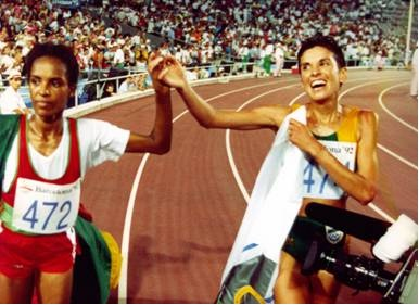 Elana Meyer - silver medalist 1992 Olympics