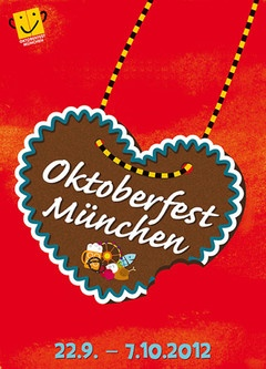 Oktoberfest Official Poster  3.Place in the competition., Copyright Oktoberfest.de