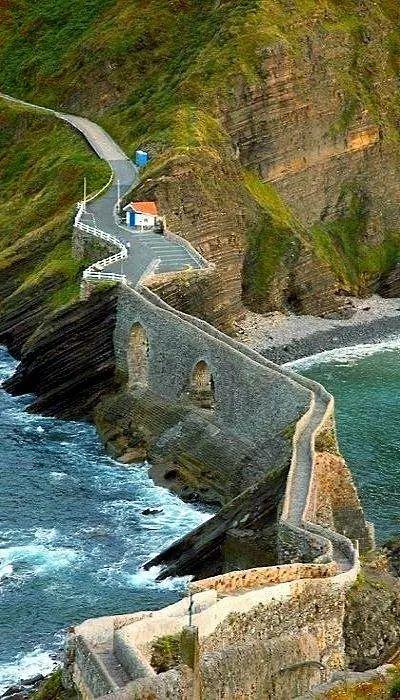 Photo: San Juan de Gaztelugatxe - Coast Of Biscay, Spain