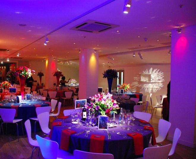 A colourful wedding theme at OXO2