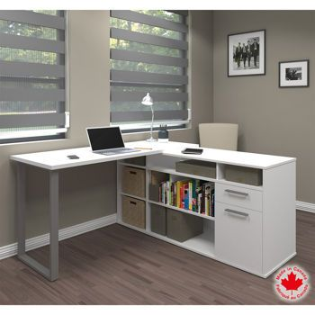 Solay L-Shaped Desk …