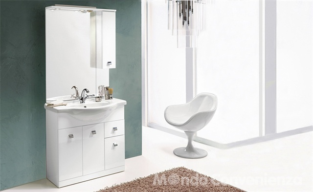 moderno - arredo bagno - moderno - mondo convenienza | dreams ... - Mondo Convenienza Bagni Moderni
