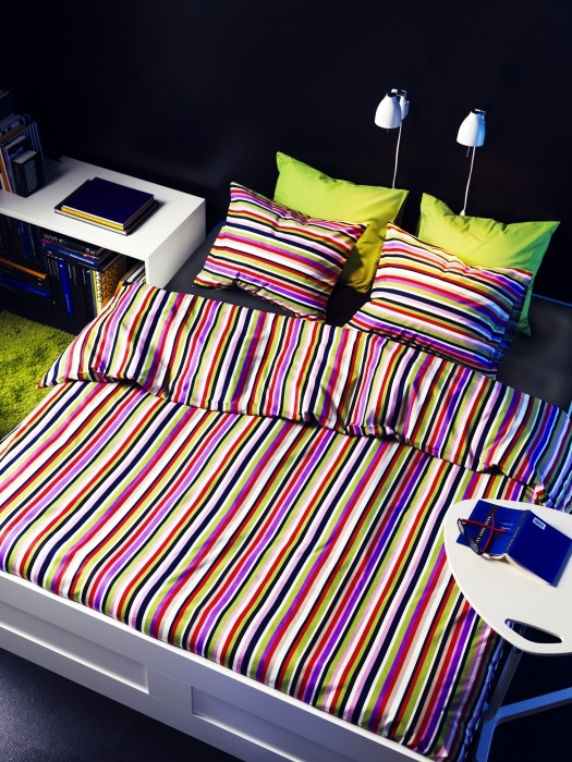 brighten your night with the bold dvala duvet cover bedding bedrooms pinterest. Black Bedroom Furniture Sets. Home Design Ideas