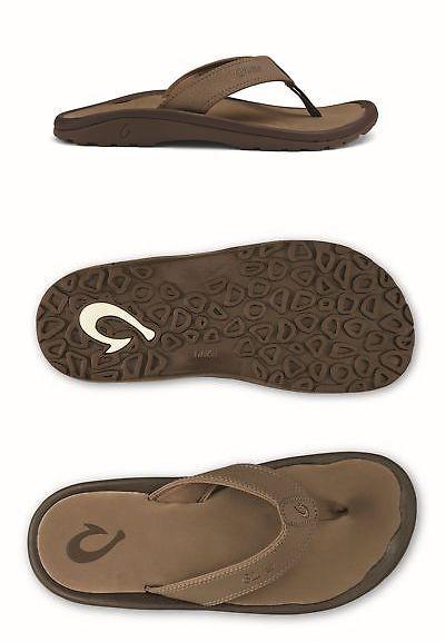 fa04045bb49e Sandals and Flip Flops 11504  Olukai 10110-1313   Ohana Sandal Men S Mustang  -  BUY IT NOW ONLY   53.27 on eBay!