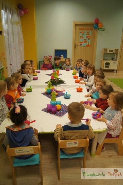 Wigilia 2014 w Niepublicznym Przedszkolu Motylek przy ul. Bociana w Krakowie - http://motylekprzedszkole.pl