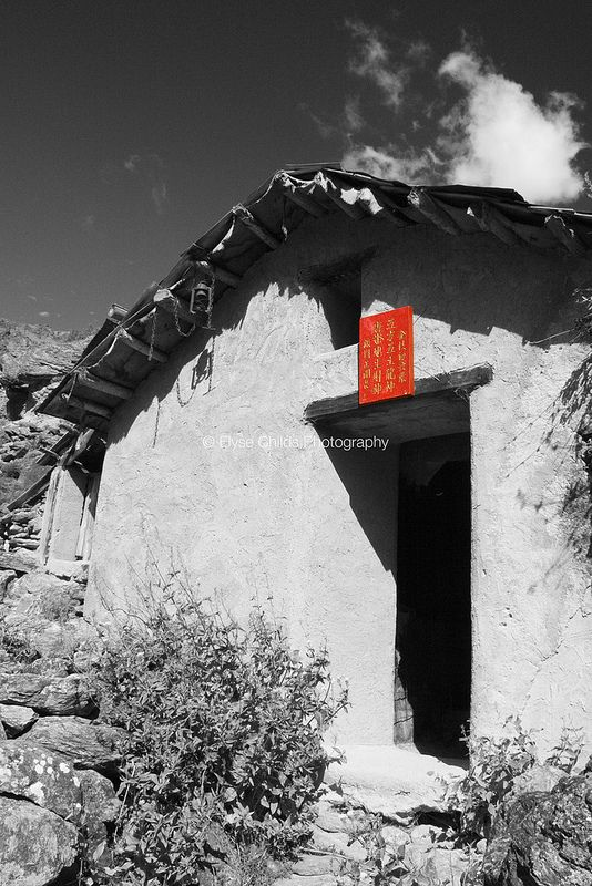 Chinese Miner's Hut | © Elyse Childs Photography