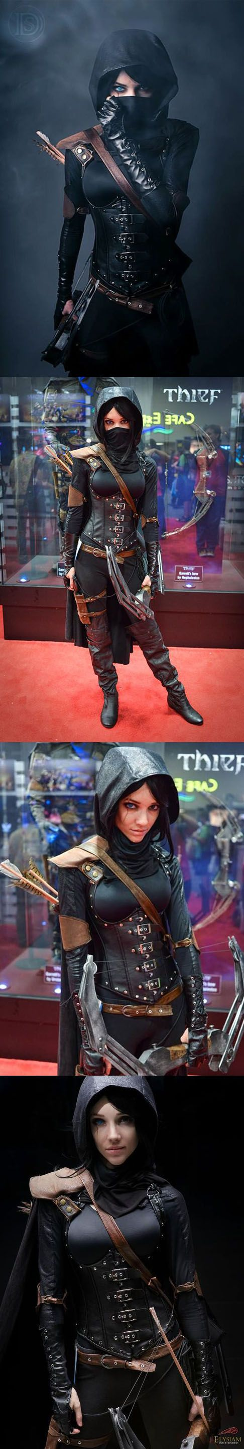 Thief cosplay. Best ever.