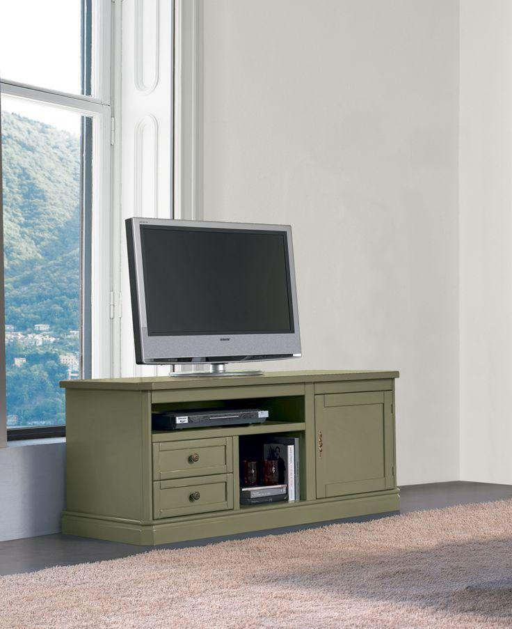 Mobile porta TV stile classico modello Oliver di Tonin Casa