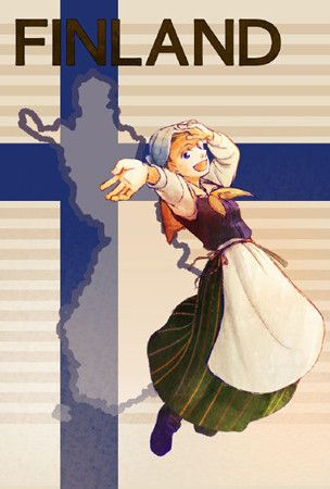 Love the Finnish national depiction of themselves.