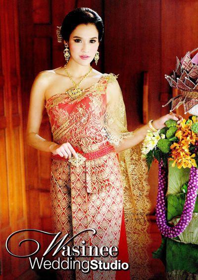 Thai wedding dress my style pinterest for Thai style wedding dress