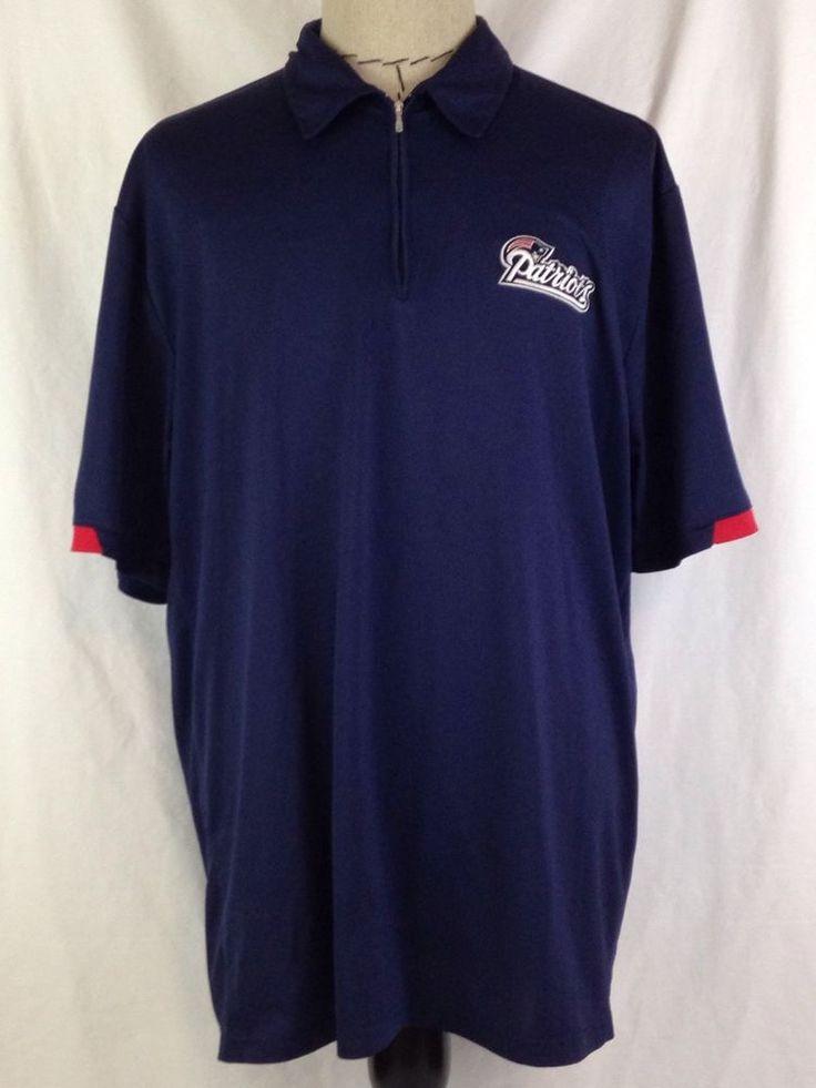 NEW ENGLAND PATRIOTS Polo Shirt Mens XL Size NFL AFC East Reebok Blue Football #Reebok #NewEnglandPatriots #NewEngland #Patriots #AFCEast #Football #Footballislife #Ebay #EbaySeller #EbaySellers #EbayStore #EbayDeals #EbayLife #Thrift #Thrifting #ThriftingLife