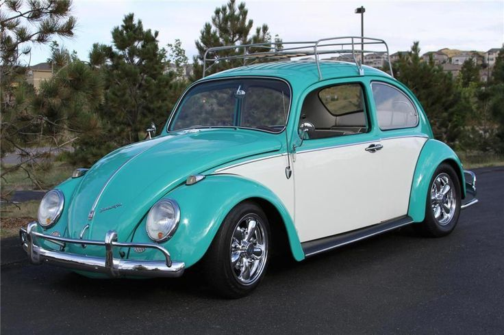 Car #6: 1965 Volkswagen Beetle, only ours was painted a patriotic red, white and…
