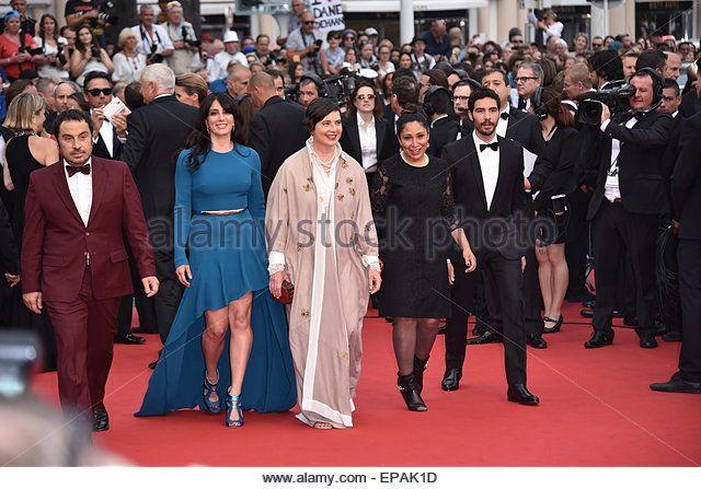 Jury Un Certain Regard Isabella Rossellini, Tahar Ramin, Haifaa Al-Mansour, Panos H. Koutras, Nadine Labaki  , attending the Red…