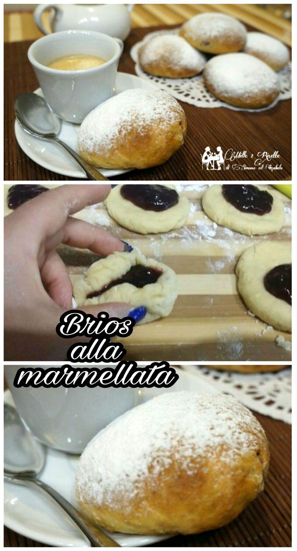 Brios alla marmellata  #merenda #buongiorno #mille1ricette #giallozafferano #top #migliorricetta #foodblog #tasty #sweet #recipe http://blog.giallozafferano.it/mille1ricette/brios-alla-marmellata/