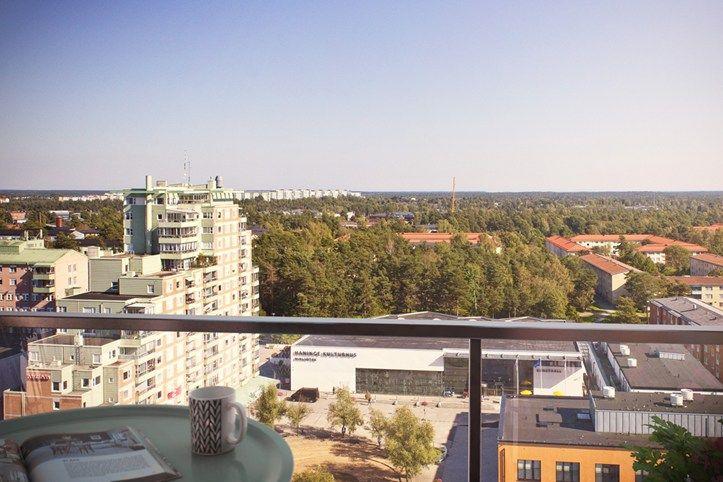 Spectacular views from Brf Blicken in Haninge.