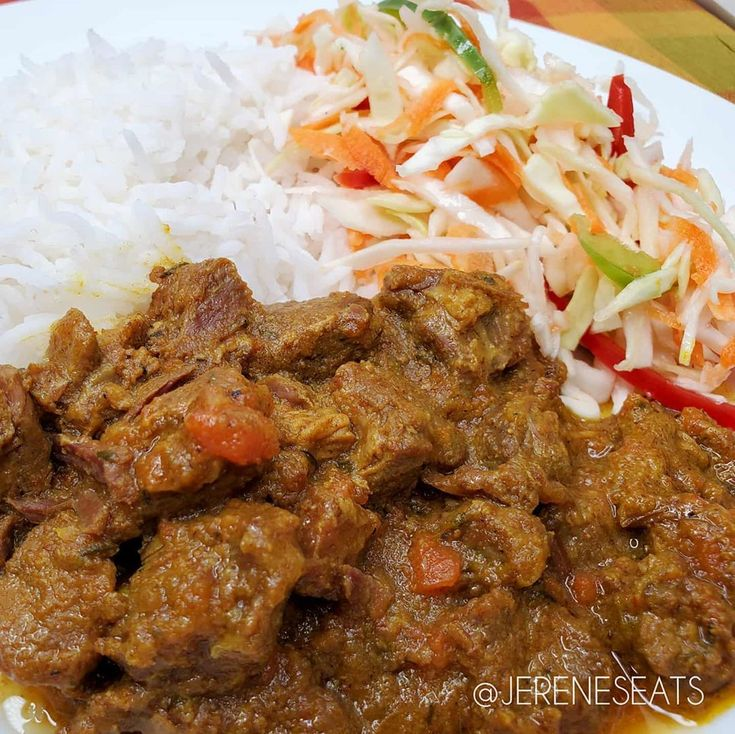who want some i can never say no to some juicy curry goat