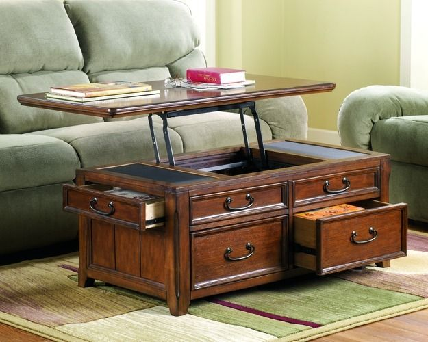 Superb Signature Design By Ashley Woolwich Trunk Coffee Table With Lift Top