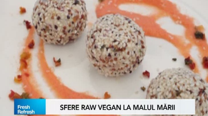 Fresh Refresh. Meniu complet, de vară, raw vegan. Vezi reţeta completă! | REALITATEA .NET