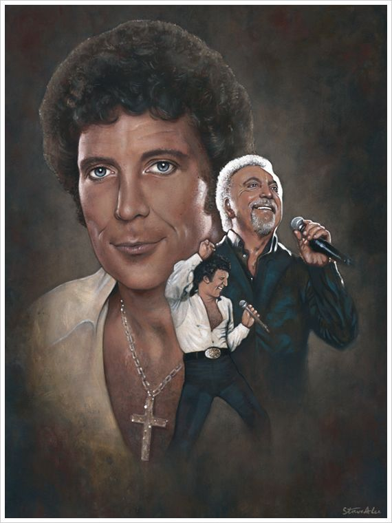 Tom Jones by Steve Alce [©2014]