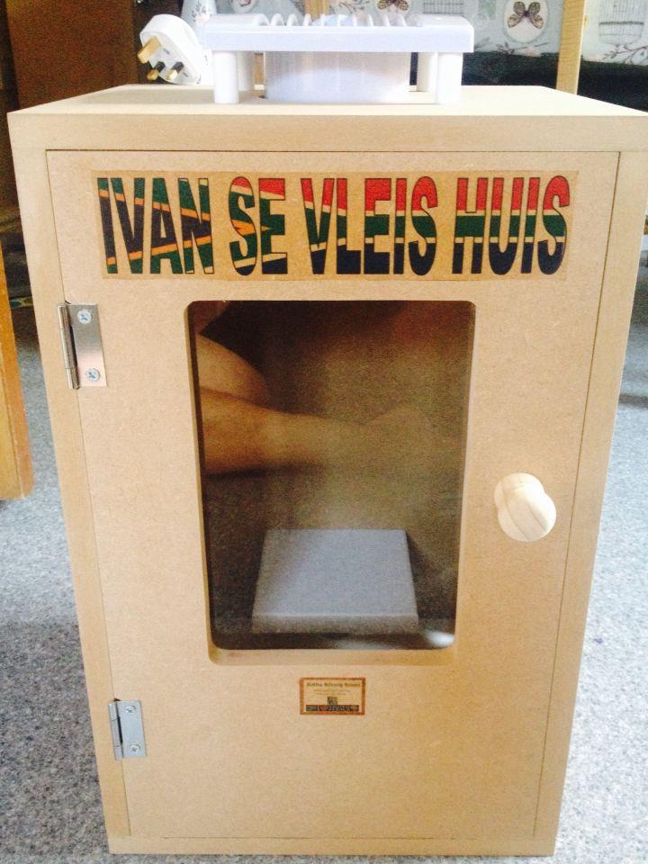 Another personalised box done at BOTHA BILTONG BOXES.