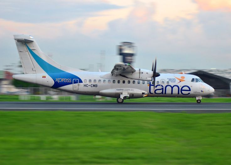 @ATRaircraft 42-500 de @Tame_EP en #Guayaquil #SEGU @AeroMundoMag