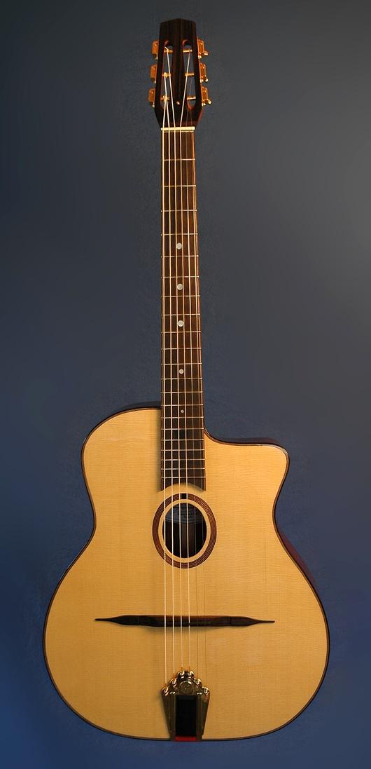 nyberg instruments- gypsy jazz guitar  www.guitarmaker.ca