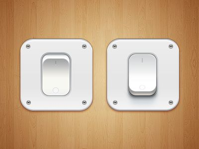 Switch iOS Icon - by Paco - Physical Mimicry