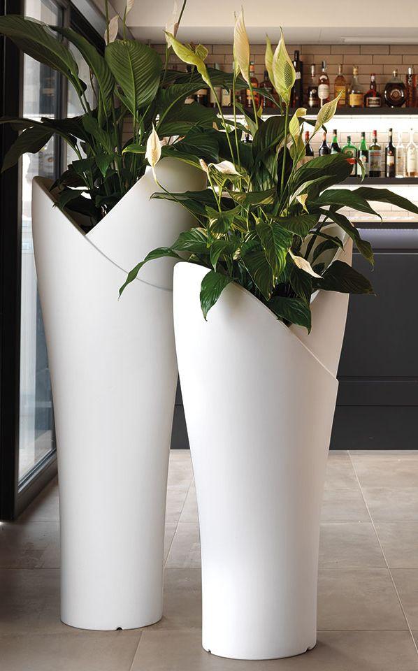Ia High Polyethylene Plant Pot By Lyxo Design