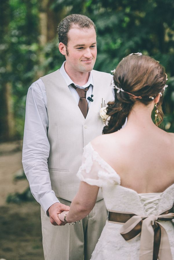 Wedding Recap: Rainforest, Chocolate, and Ivory. Very small wedding. (Pic Heavy) - Weddingbee