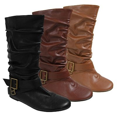want!: Slouchy Mystylepinboard, Styles Pinboard, Side Buckles, Flats Slouchy, Flats Boots, Adi Slouchy, Brown Boots, Slouchy Flats, Fashion Boots